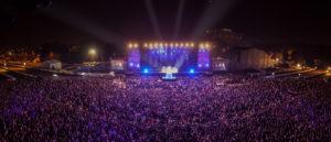 Scène de concert au Festival Mawazine